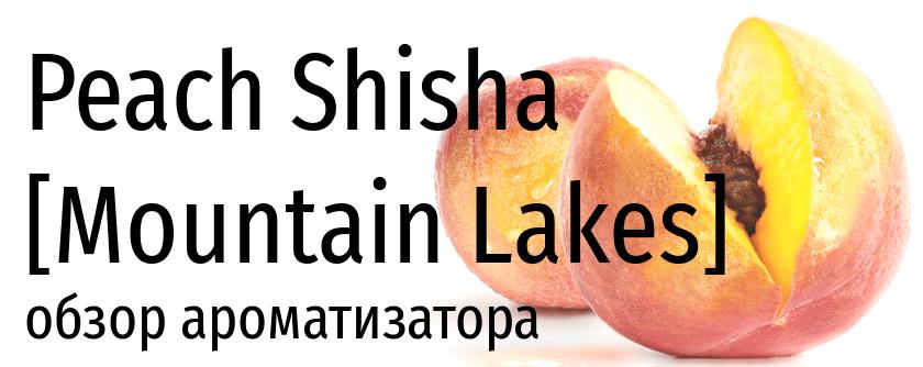 ML Peach Shisha