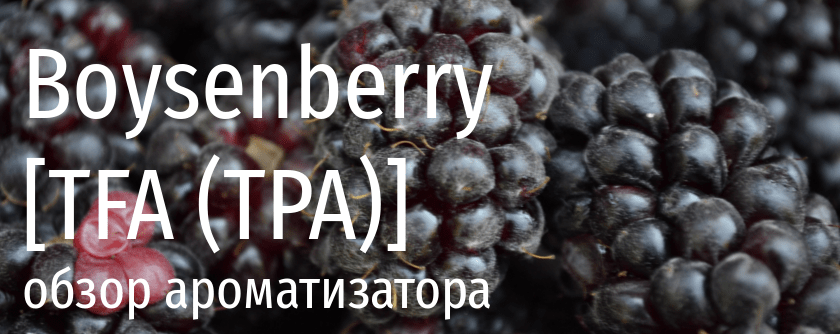 TFA Boysenberry tpa