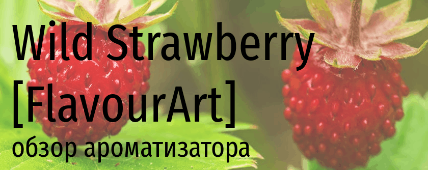FA Wild Strawberry flavourart