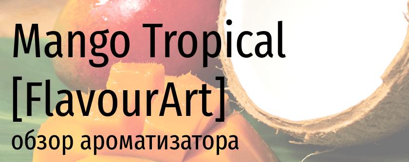 FA Mango Tropical flavourart